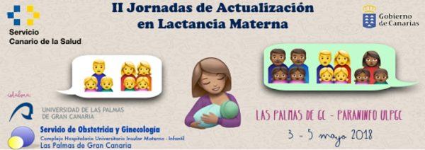 II Jornadas de actualización en lactancia materna